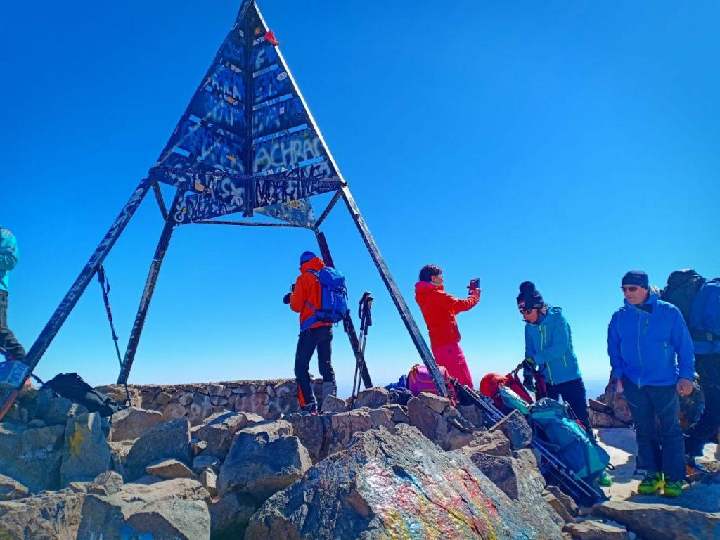 Jebel Toubkal. Mount Toubkal. Trekking In Morocco
