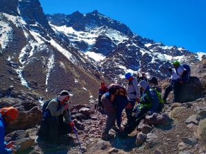 Trekking in Morocco group, Atlas Mountains Tour
