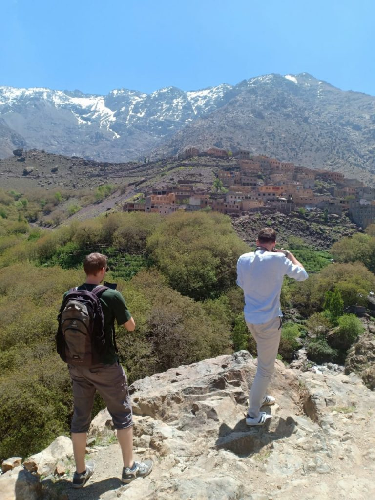 Trekking in Morocco is beautiful at any time of year