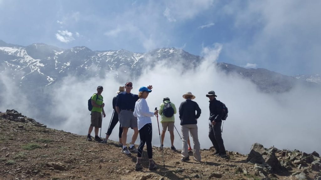 Trekking in Morocco. View-Morocco