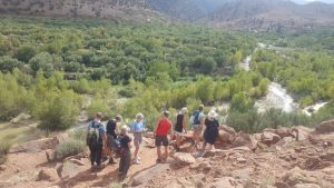 Trekking In Morocco with our tour guides at View Morocco