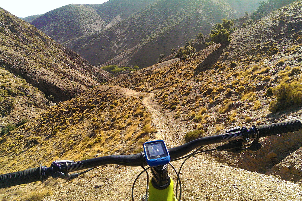 mountain biking in Morocco. View Morocco