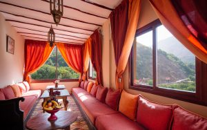 Riad Atlas Toubkal. View Morocco. Morocco Tours.