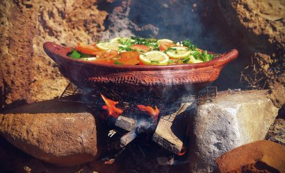 Cooking with View Morocco tours.