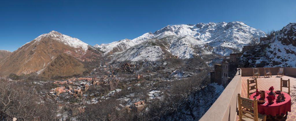 Riad Atlas Prestige, Imlil. View Morocco website.