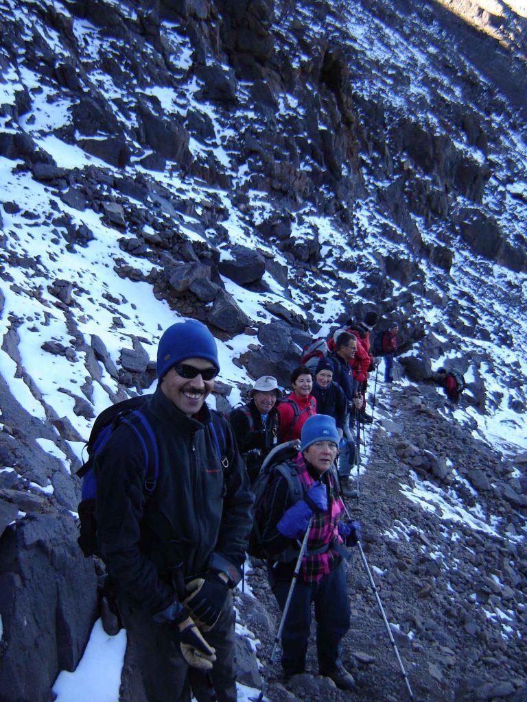 Mohamed Aztat trekking guide